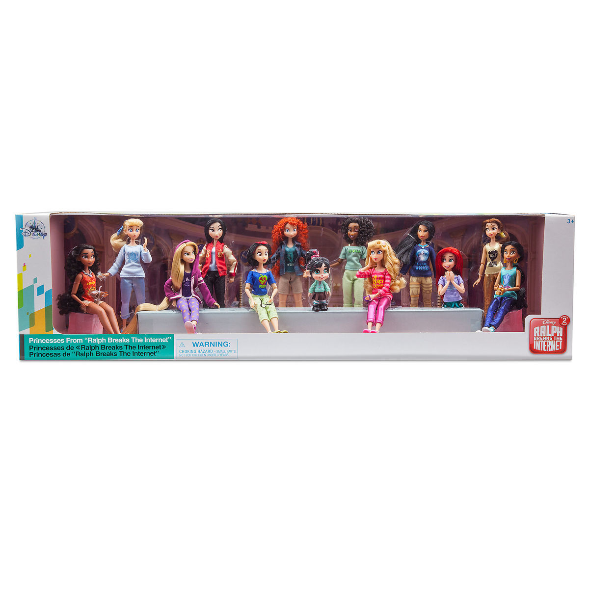 Disney Vanellope With Princesses From Ralph Breaks The Internet Doll S I Love Characters