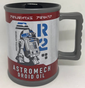 Disney Parks Star Wars Galaxy Edge Droid Depot Astromech R2D2 Coffee Mug New