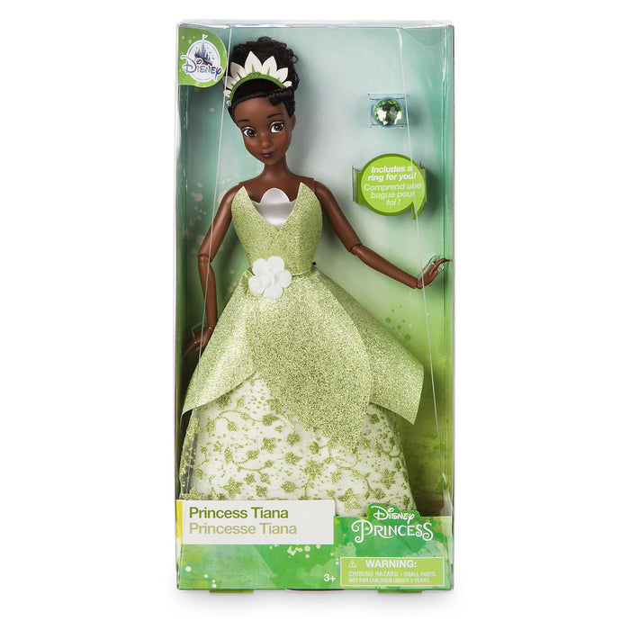 Disney Princess Tiana Classic Doll with Ring New with Box