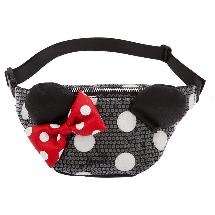 Disney Minnie Mouse Sequined Hip Pack by Loungefly New with Tags