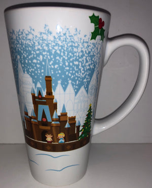 Disney 2018 Cinderella Prince Charming Contemporary Resort Holiday Tall Mug New