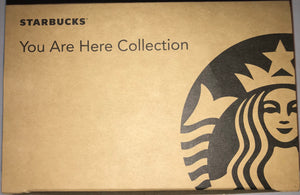 Starbucks Universal Studios Hollywood You Are Here Collection Ceramic Mug New with Box