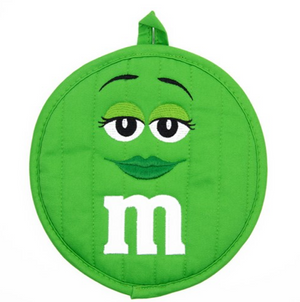 M&M's World Green Character Pot Holder New with Tag