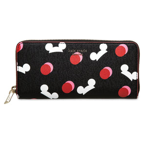 Disney Mickey Mouse Ear Hat Wallet Black by Kate Spade New York New with Tag