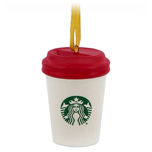 Disney Parks Starbucks Been There Happy Holiday Tumbler Ornament New with Tag