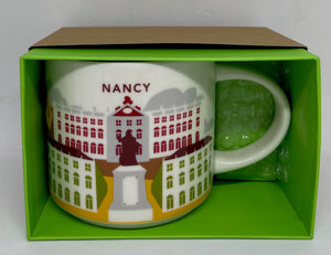 Starbucks You Are Here Collection Nancy France Ceramic Coffee Mug New Box