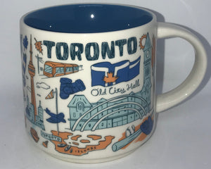 Starbucks Been There Series Collection Toronto Canada Ontario Coffee Mug New