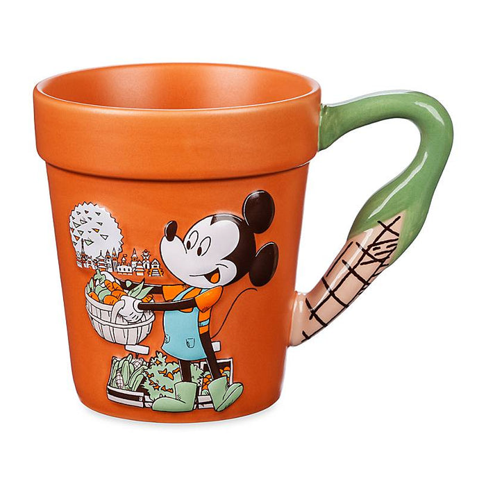 Disney Flower and Garden Festival 2020 Mickey Farmer's Market Flower Pot Mug