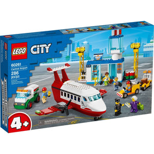 Lego 60261 City Central Airport Playset Building Set New with Sealed Box