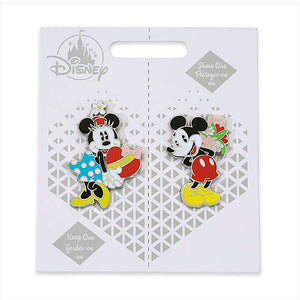 Disney Mickey and Minnie Couples Pin Set Keep One Share One New with Card