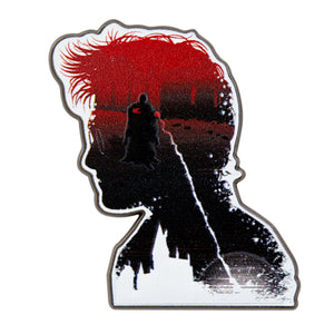 Universal Studios Voldemort in Harry Potter's silhouette Pin New with Card