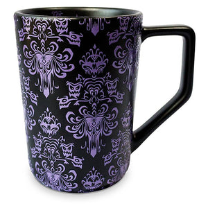 Disney The Haunted Mansion Wallpaper Tall Latte Mug New