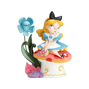 Disney Miss Mindy Alice in Wonderland Figurine New with Box