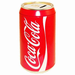 Authentic Coca Cola Coke Red Can Coin Bank New