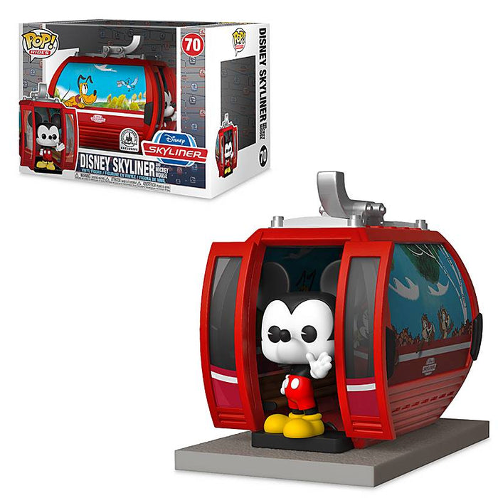 Disney Parks Exclusive Skyliner with Mickey Mouse Funko Pop New with Box