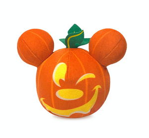 Disney Halloween 2020 Mickey Mouse Mini Pumpkin Light-Up Plush New with Tag