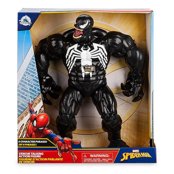 Disney Marvel Spider - Man Venom Talking Action Figure New with Box