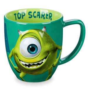 Disney Monsters Mike Wazowski Portrait Top Scarer Coffee Mug Tea Cup New