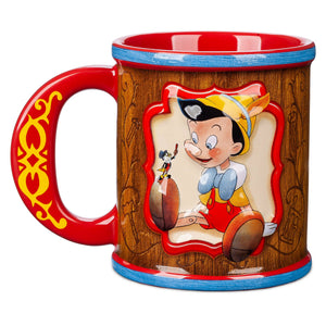 Disney Legacy Pinocchio 80th Anniversary Coffee Ceramic Mug New