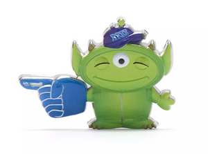 Disney Toy Story Alien Pixar Remix Pin Mike Wazowski Limited Release New