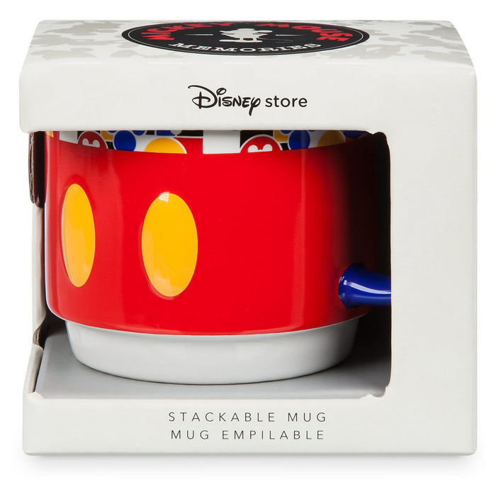 Disney Store Mickey Memories March Limited Stackable Coffee Mug New with Box