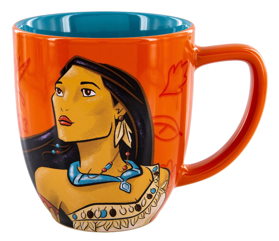 Princess Path Coffee Mug Follow Pocahontas Disney Portrait Your Parks New Own Yf6g7yvIb