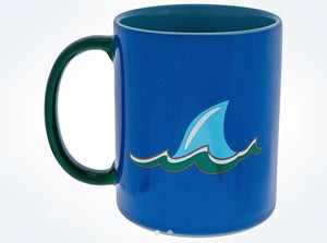 Disney Parks Finding Nemo Bruce Pacific Fins Baseball Coffee Ceramic Mug New
