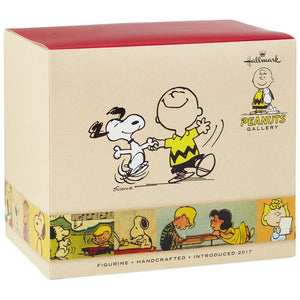 Hallmark Peanuts Brown and Snoopy Happy Dance Figurine New with Box