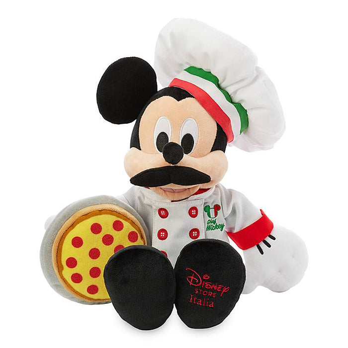 Disney Parks Epcot Italy Chef Mickey Mouse Plush New with Tag