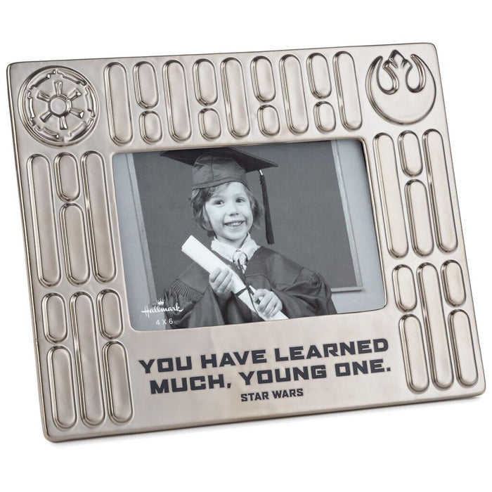 Hallmark Star Wars You Have Learned Much Young One Picture Photo Frame 4x6 New
