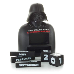 Hallmark Star Wars Darth Vader Calendar This Will Be a Day Long Remember New