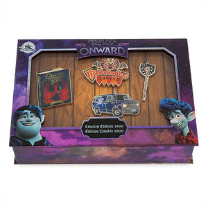 Disney Store Pixar Onward Pin Set Limited Edition New with Box