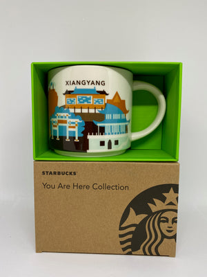 Starbucks You Are Here Collection Xiangyang China Ceramic Coffee Mug New W Box