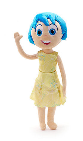 "Disney Parks Inside Out Joy Plush 12"" New with Tags"