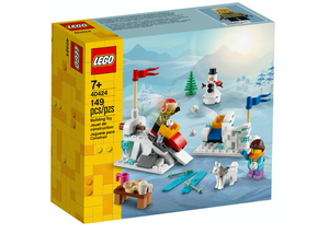 Lego 40424 Christmas Winter Snowball Fight New Sealed Box