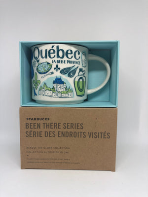 Starbucks Been There Series Collection Canada Quebec Coffee Mug New