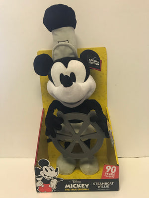 Disney 90th Mickey Steamboat Willie Dancing Plush Only at Target New with Box