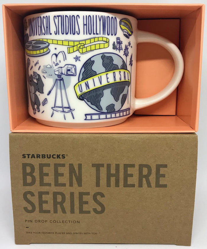 Starbucks Been There Series Coffee Mug Universal Studios Hollywood New with Box
