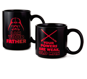 Hallmark Star Wars Father and Child Stacking Mugs Set of 2 New