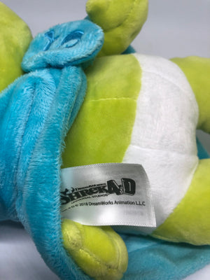 Universal Studios Shrek 4-D Baby Boy in Blanket Plush New With Tags