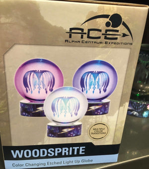 Disney Pandora Avatar Woodsprite Color Changing Light Up Globe New with Box