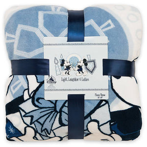 Disney Parks Holiday Mickey and Minnie Happy Chanukah Hanukkah Blanket New