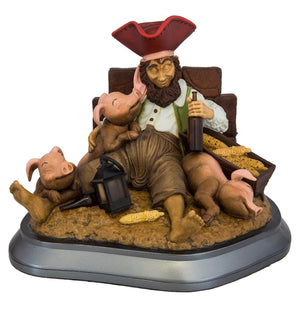 Disney Parks 50th Pirates of the Caribbean Lesinski Resin Figurine New with Box