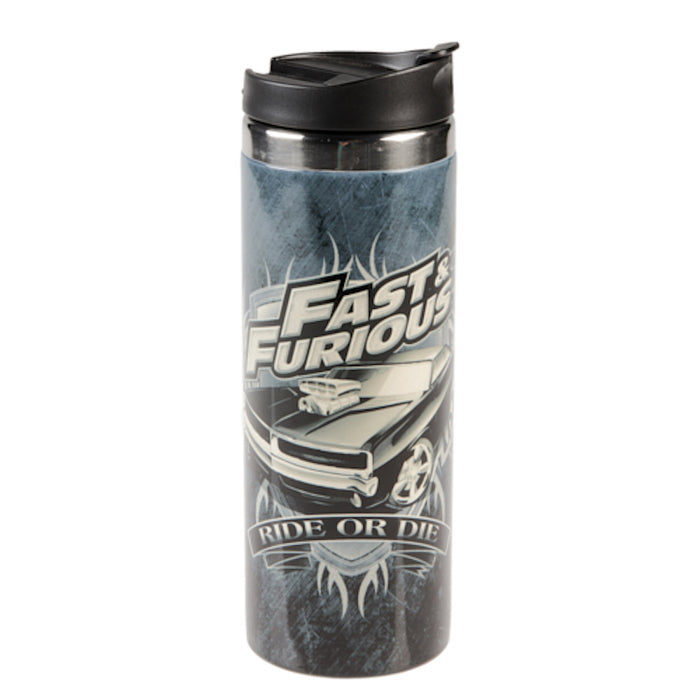 Universal Studios Fast & Furious Ride or Die Travel Tumbler New