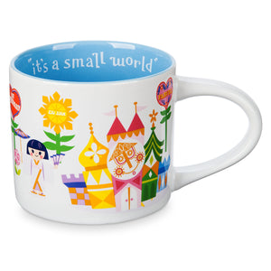 Disney Parks It's a Small World Ceramic Coffee Mug 16 Oz New
