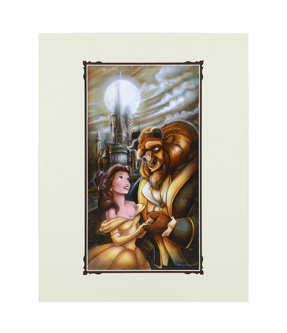 Disney Parks Beauty and the Beast Deluxe Print by Wilson New