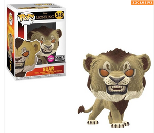 Funko Pop! Disney The Lion King Flocked Scar Fye Exclusive New with Box