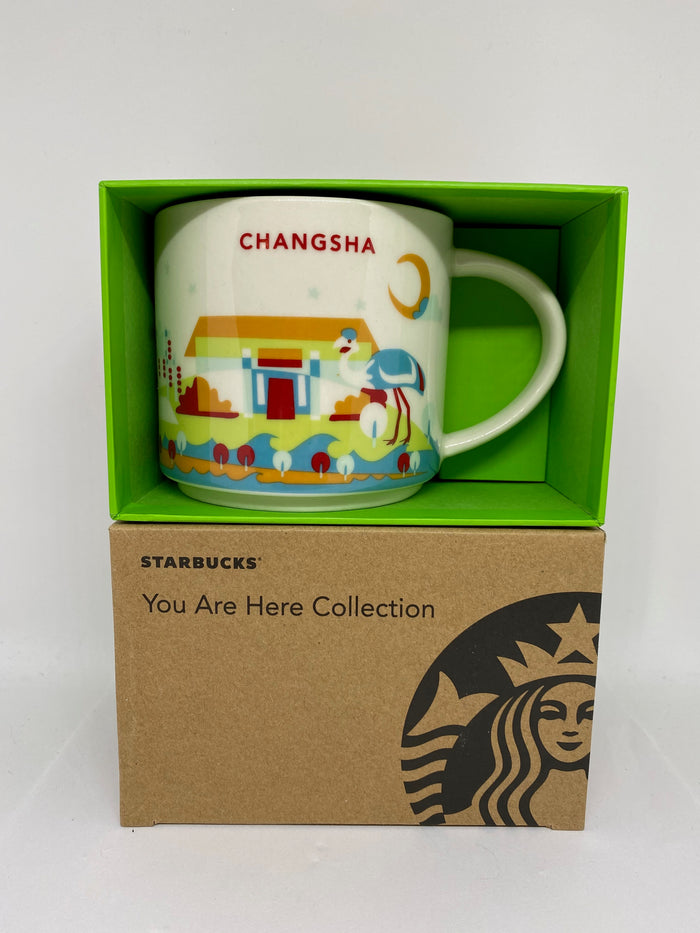 Starbucks You Are Here Collection Changsha China Ceramic Coffee Mug New With Box