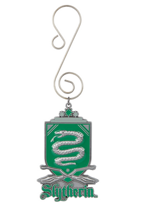 Universal Studios Harry Potter Slytherin Quidditch Shield Ornament New with Tag