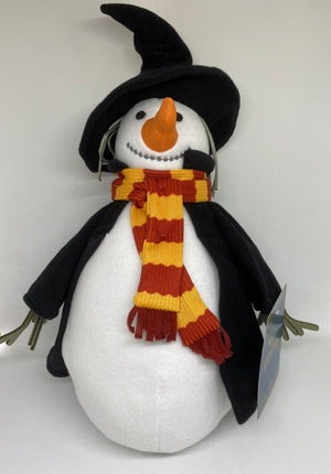 Universal Studios Wizarding World of Harry Potter Hogsmeade Snowman Plush New